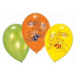 AMSCAN - Lot 6 Ballons à gonfler Maya l'Abeille