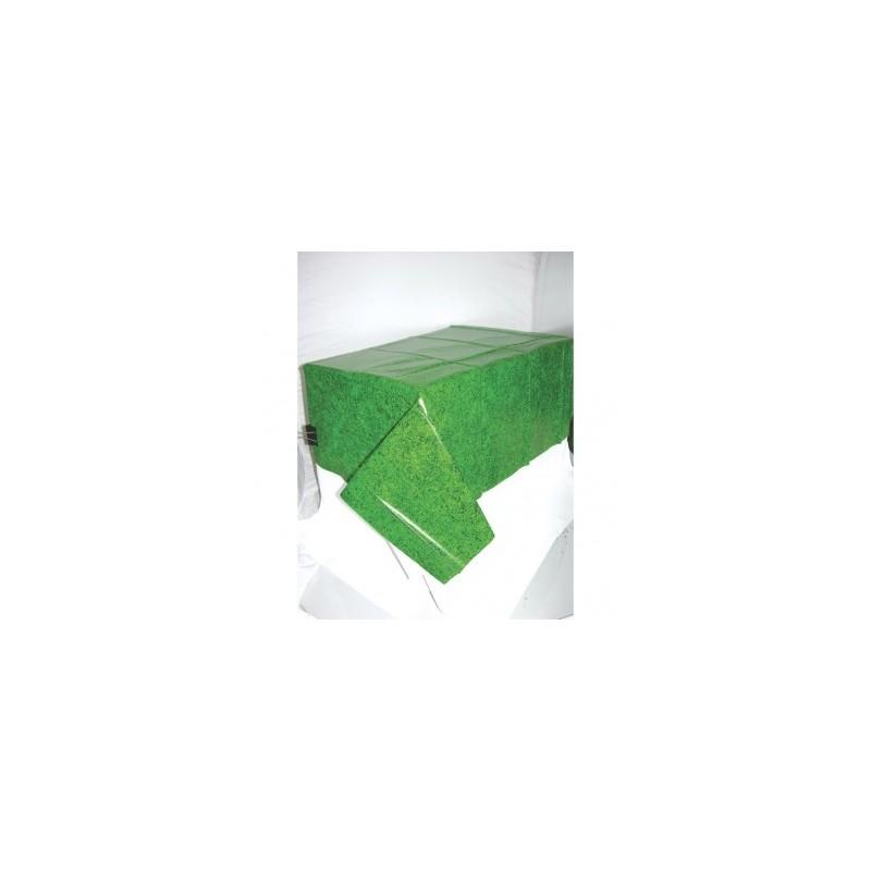 AMSCAN - NAPPE Plastifiée Pelouse Football 137cm x 259cm