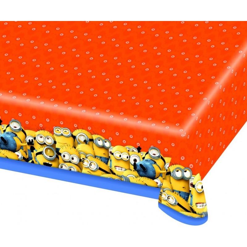 AMSCAN - Nappe Plastifiée Minions 120 x 180cm