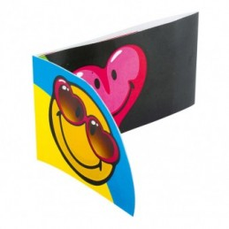 Amscan - 6 Cartes d'invitation et Enveloppes Smiley Express
