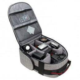 USA Gear Sac à Dos - Appareil Photo Réflex Intérieur Ajustable
