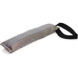 Knuffelwuff - Jouet d'entraînement à lancer / rapporter résistant en tissu, avec corde, 47 cm