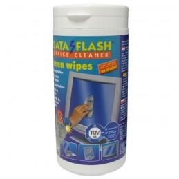 DATA FLASH - Nettoyage 50 lingettes humides + 50 sèches