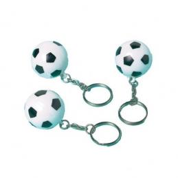 AMSCAN - 12 Porte-clefs ballons de Foot