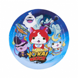 AMSCAN - LOT 8 Assiettes  en carton 18cm diam YO KAI WATCH