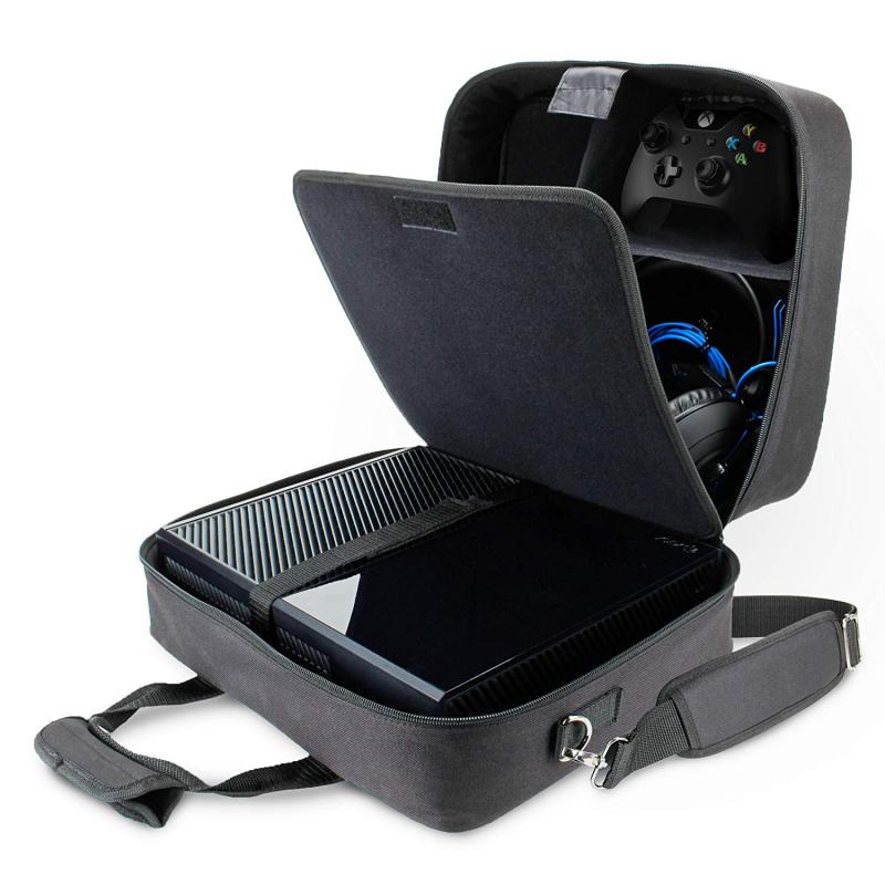 USA GEAR Sacoche de Console de Jeux avec Pour Xbox One, PlayStation 4...