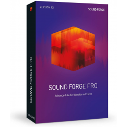 MAGIX - SOUND FORGE Pro – Version 12 - Compatible WIN 7, 8, 10 - 64 bits