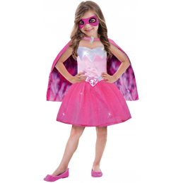 Déguisement Barbie Power Princesse 3/5 Ans