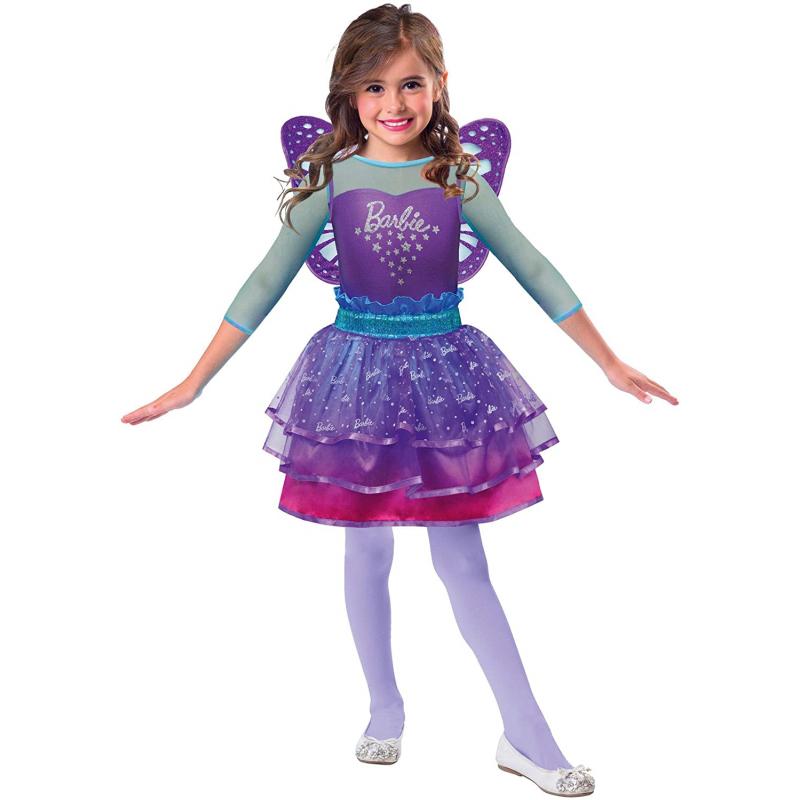 AMSCAN - Déguisement Barbie Fée Arc-en-ciel 5/7 Ans