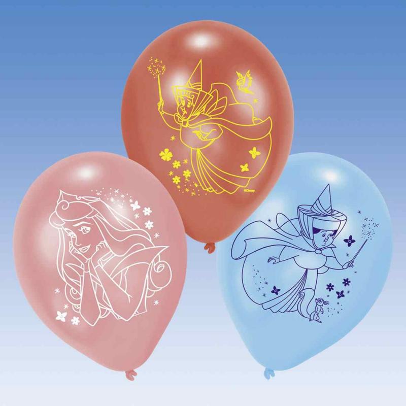 Riethmuller - Lot 6 Ballons à gonfler Belle au bois dormant