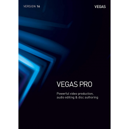 VEGAS Pro 16 - 1 appareil - Licence Perpétuelle - PC - WINDOWS 10 - 64 bits - Multilingue