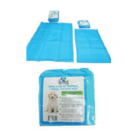 ZAMIBO Lot de 7 Tapis alèse de propreté 30x45 cm, bleu