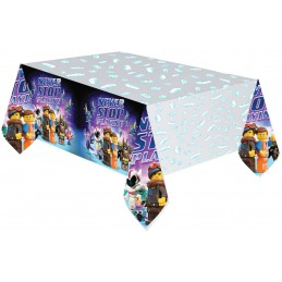 AMSCAN - NAPPE Plastifiée Lego Movie 2 1.80m x 1.20m