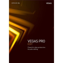 VEGAS Pro 16 Edit - 1 appareil - Licence Perpétuelle - PC - WINDOWS 10 - 64 bits - Multilingue