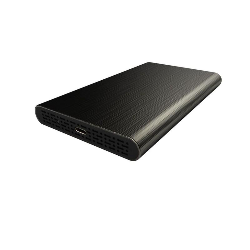 """Boitier 2,5"""" USB3.1 Noir pour disque dur 2.5"""" SATA Mac-PC - HEDEN"""