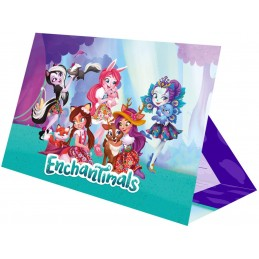 8 Cartes invitation + Enveloppes Enchantimals