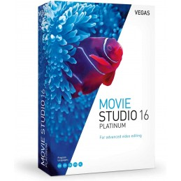 VEGAS Movie Studio 16 Platinum - 1 PC Windows 10 64 bits - Licence Perpétuelle