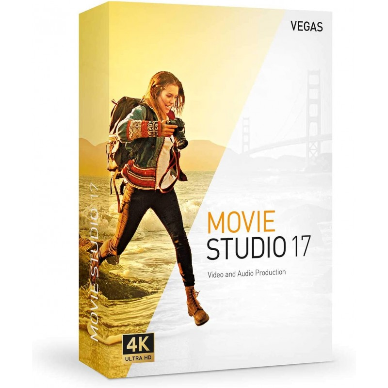VEGAS Movie Studio 17 - 1 PC Windows 10 64bits Licence Perpétuelle - Multilingue