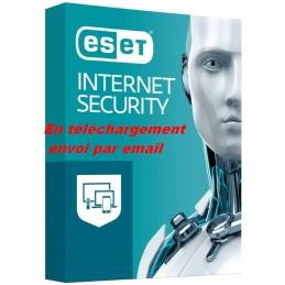 ESET Internet Security 2021 ESD 1 APP - 1 an envoi par email