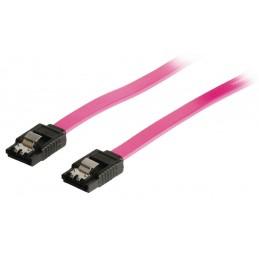 "1m Câble Cordon SATA pour disque dur (2.5"" ou 3.5""), SSD ou graveur 7Pins (A1)"