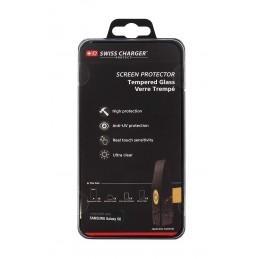 Swiss Charger SCP50258 Film de protection d'écran en verre trempé Haute Qualité pour Samsung Galaxy S6