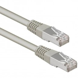CORDON CABLE RESEAU ETHERNET RJ45 – Gris- 5m CAT6 FTP