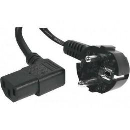 CABLE CORDON Coudé 2m Alimentation Electrique Secteur - PC Vidéo projecteur TV