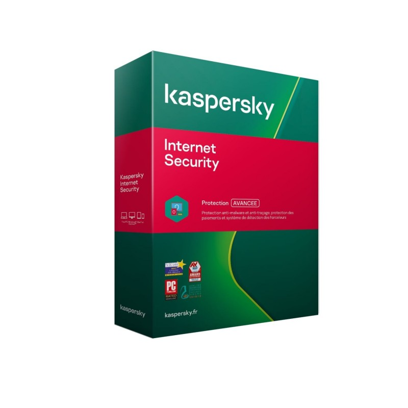 Kaspersky Internet Security Multidevice 2021 - 3 App 1 An PC Mac Android iOS - Licence officielle par mail - ESD