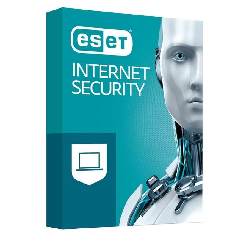 BOITE - ESET Internet Security 2021 1 APP - 1 an