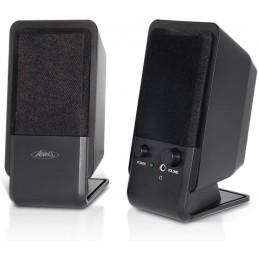 Advance - Enceinte Multimédia SoundPhonic 2.0 - 4W RMS pour Ordinateur Portable  - Noir