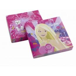 Riethmuller - Lot 20 Serviettes en papier 33x33cm Barbie Glamour