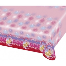 AMSCAN - NAPPE Plastifiée Barbie Pink Shoes 1.80 x 1.20m