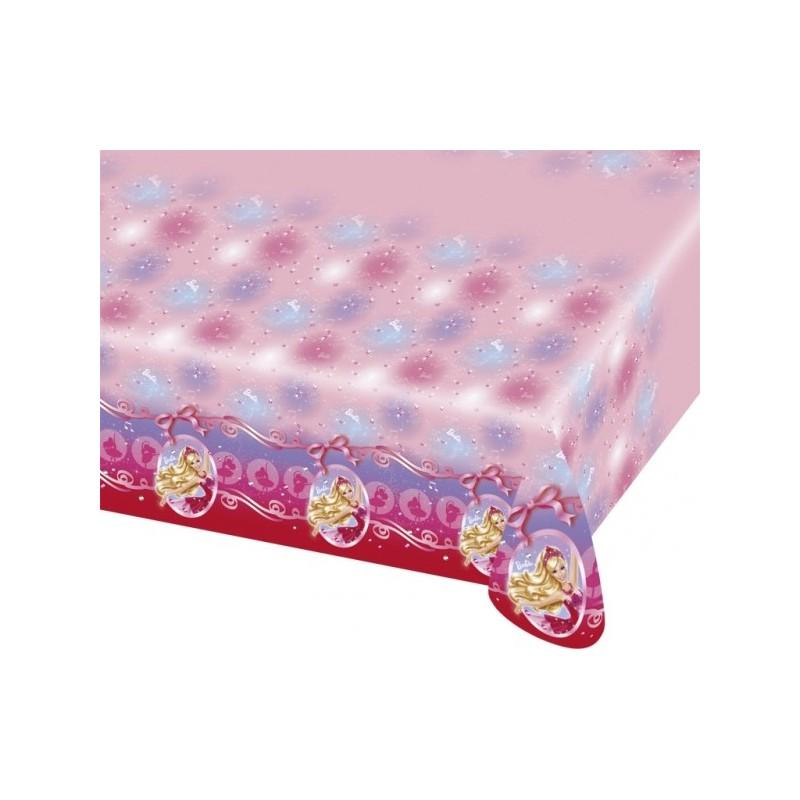 AMSCAN - NAPPE Plastifiée Barbie Pink Shoes 1.80 x 1.20m