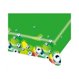 AMSCAN - NAPPE Plastifiée Football Party 2 1.80 x 1.20m