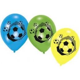 AMSCAN - Lot 6 Ballons à gonfler Football Party 2