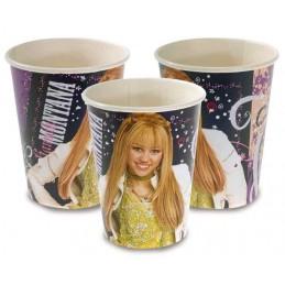 Riethmuller - Lot 8 Gobelets en carton Hannah Montana