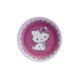 Riethmuller - Lot 8 assiettes en carton Hello Kitty 23cm diamètre
