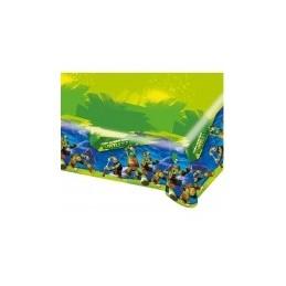 AMSCAN - NAPPE Plastifiée Tortue Ninja 1.80m x 1.20m