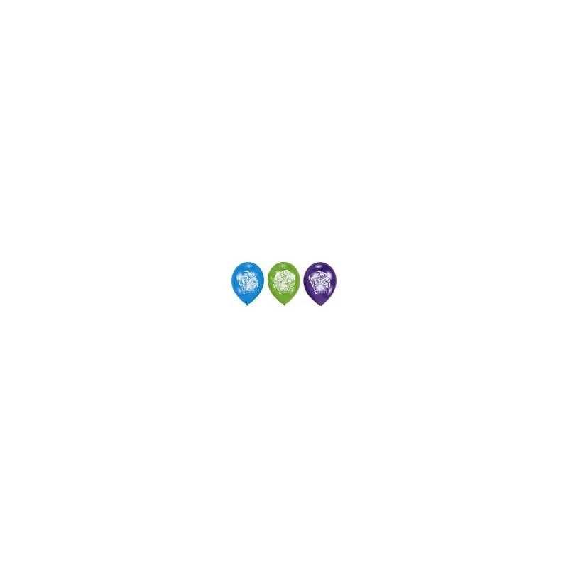 AMSCAN - Lot 6 Ballons à gonfler Tortue Ninja