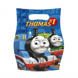 Riethmuller - Lot 6 sachets de fête, sac à bonbons Thomas & Friends
