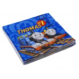 Riethmuller - Lot 20 Serviettes en papier 33x33cm Thomas & Friends