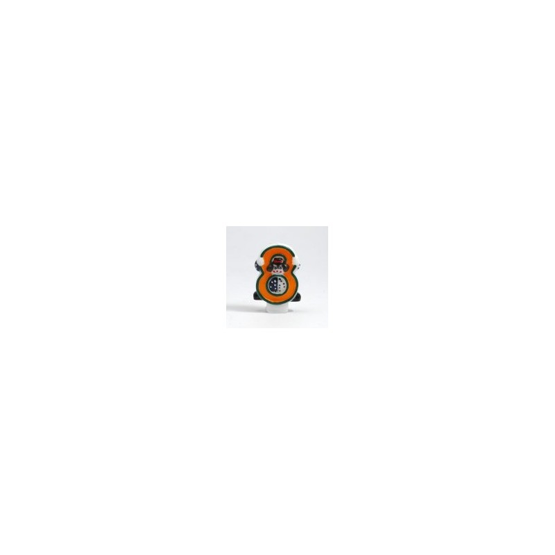 Bougie Chiffre 8 - Clown - Hauteur env 8 Cm