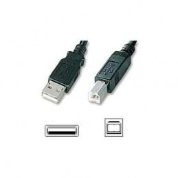 Cable USB Cordon USB 1m - 1 m - A/B Mâle/Mâle Imprimante Scanner ... (C1 -N