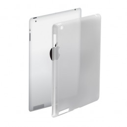 CAMPUS -  Coque de protection pour new iPad3 semi rigide transparent - LIFE SHIELD I3P-SCOVER
