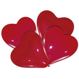 Riethmuller - Lot 4 Ballons à gonfler Coeur